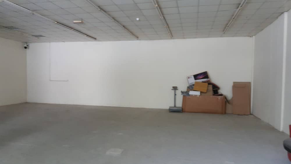 AL Khabaisi 4000 sqft commercial warehouse with builtin office
