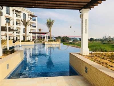 استوديو  للايجار في جزيرة ياس، أبوظبي - Full Golf and Pool view ! new apartment!