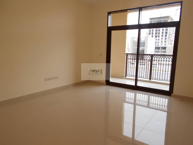 2 1 MONTH & CHILLER FREE STUDIO WITH BALCONY FACING AL KHAIL ROAD PARKING ALL AMENITIES IN 44K