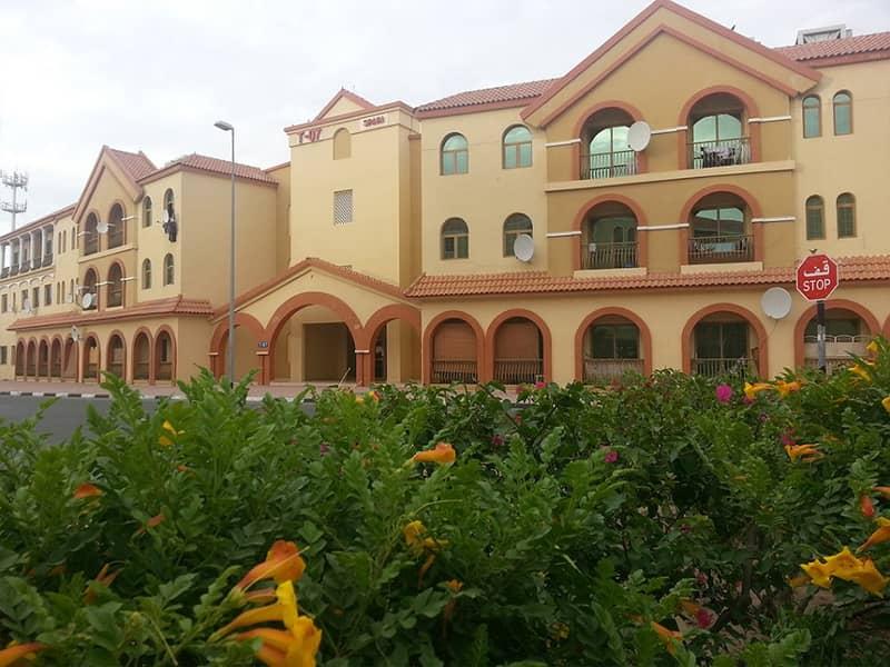 شقة في طراز إسبانيا المدينة العالمية 1 غرف 33000 درهم - 3985584