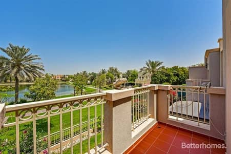 3 Bedroom Villa for Rent in The Springs, Dubai - Lake View | 1M | Freshly Painted | vacant