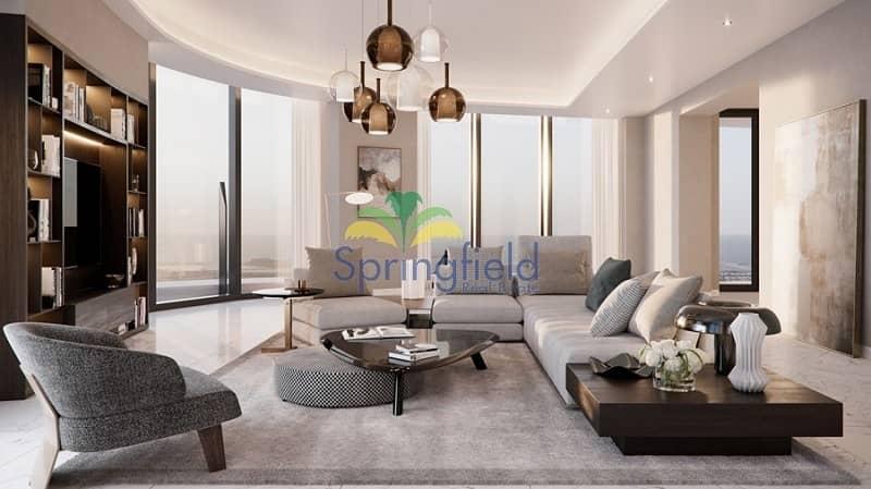 4BR w/ Full Burj Khalifa View | 50/50 Payment Plan