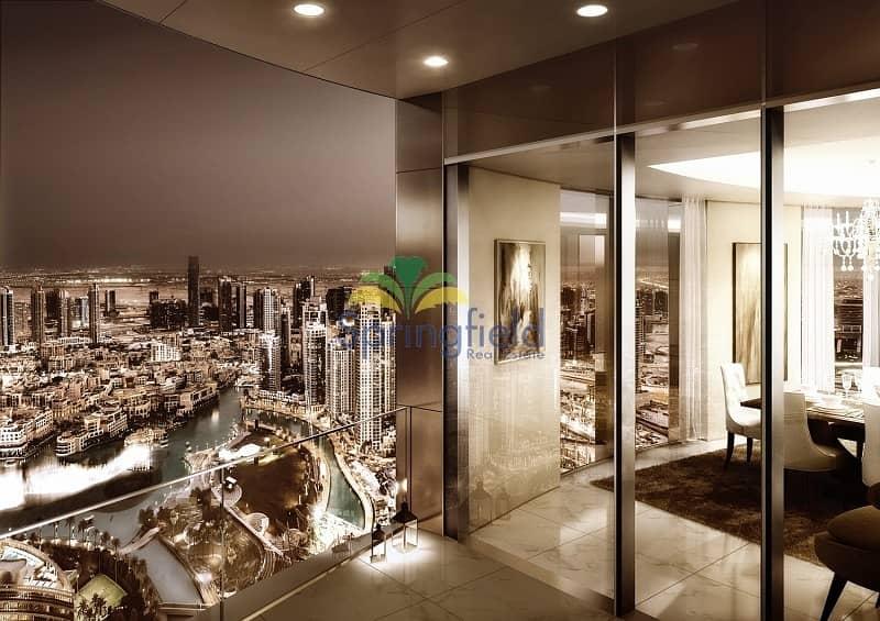 10 4BR w/ Full Burj Khalifa View | 50/50 Payment Plan