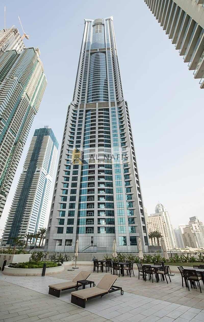 2 BR Apt. Palm View  THE TORCH TOWER Dubai Marina