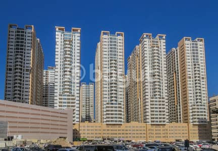 1 Bedroom Apartment for Rent in Al Sawan, Ajman - 1BHK FOR RENT IN AJMAN ONE TOWER SEA VIEW