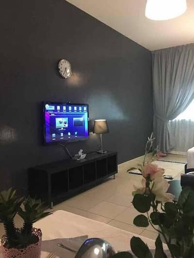 1 Bedroom Apartment for Rent in Al Bustan, Ajman - Fully Furnished One Bed Room Flat for monthly rent 4000 in Orient Tower