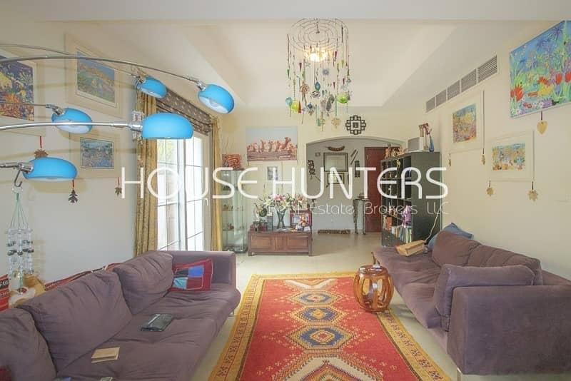 Family sized Al Reem villa in a private