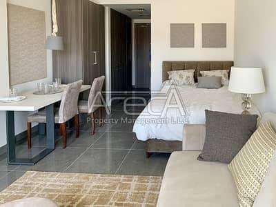 Studio for Rent in Masdar City, Abu Dhabi - A Brand New Fully Furnished Studio for Rent in Masdar City