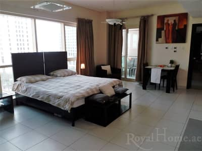 Studio for Rent in Dubai Marina, Dubai - Nice Studio | Quick rent | 60 K 1 cheque