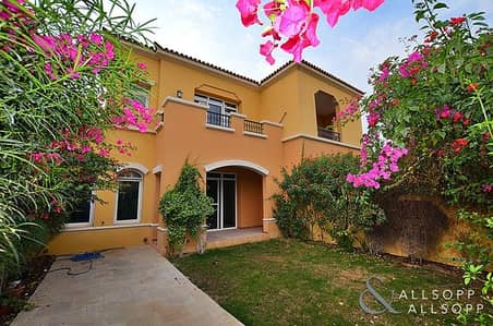2 Bedroom Townhouse for Rent in Arabian Ranches, Dubai - Two Bed | Pool and Park View | Landscaped