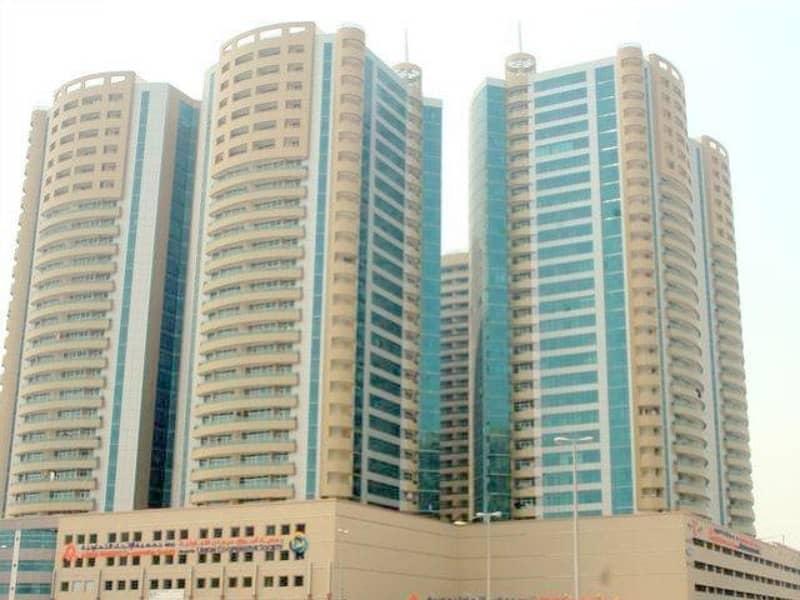 شقة في أبراج هورايزون عجمان وسط المدينة 3 غرف 55000 درهم - 2069433