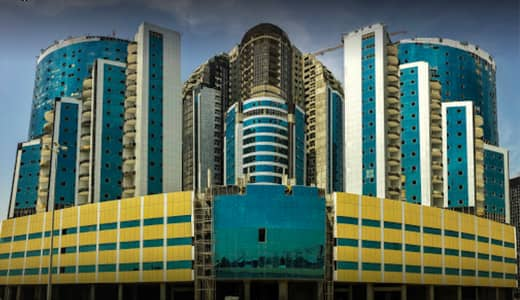 1 Bedroom Flat for Sale in Ajman Downtown, Ajman - Special Price 1 Bed Room Brand New Building with C view & parking for sale 270000