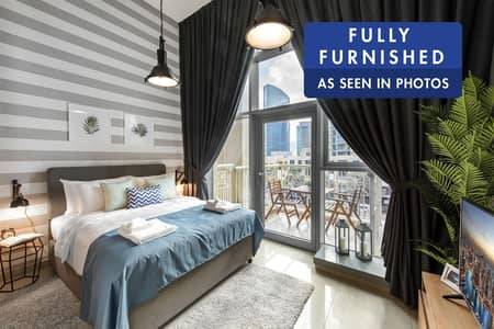 Studio for Rent in Downtown Dubai, Dubai - Fully Furnished | Brand New | City View
