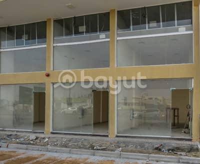 Shop for Rent in Ajman Industrial, Ajman - Big Shop in Saoud Building