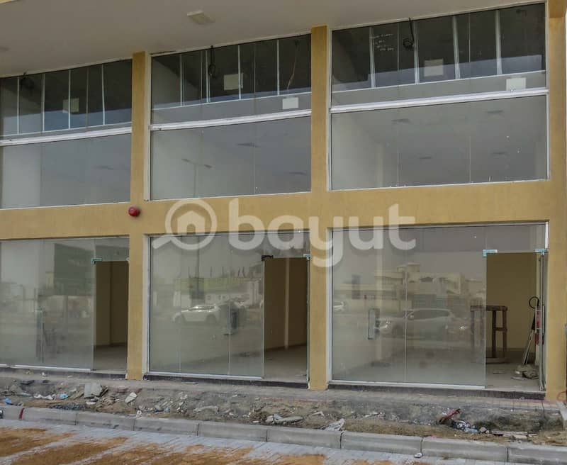 2 small shop for rent in saoud building