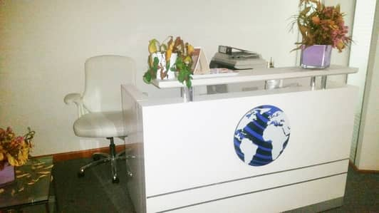 Office for Rent in Sheikh Zayed Road, Dubai - Sheikh Zayed Road 700 sq. Ft fully furnished office space.