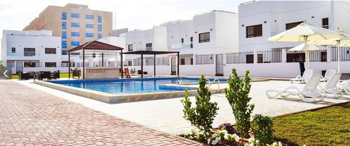 4 Bedroom Villa for Rent in Al Jurf, Ajman - Beautiful Well-Maintained 4 BHK Furnished Villa Available in Al Jurf-1 Behind Ajman University