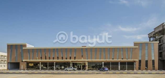 Shop for Rent in Al Jurf, Ajman - Shops for rent inside the Mall