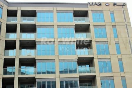 شقة 1 غرفة نوم للايجار في دبي الجنوب، دبي - Lowest  Priced 1BED In Mag 5-  Boulevard