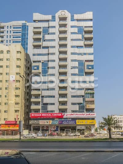 2 Bedroom Apartment for Rent in Sheikh Khalifa Bin Zayed Street, Ajman - 2 Bed room in Andalus 2 Tower