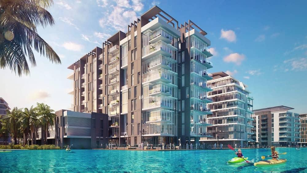 شقة في دستركت ون مدينة محمد بن راشد 1 غرف 1215988 درهم - 3917740