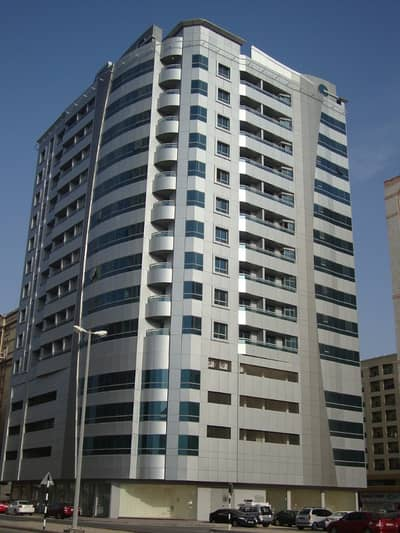 Studio for Rent in King Faisal Street, Ajman - Studio with Balcony AED 14,500 King Faisal RD Ajman