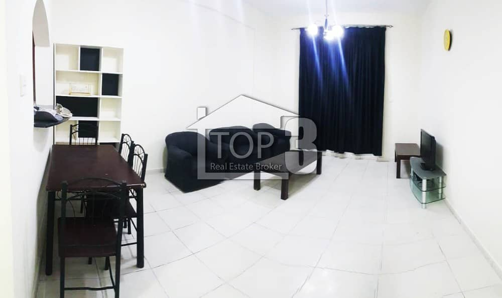 Stunning | Furnished 1 BR semi furnished 3500/m apt for rent in University view DSO