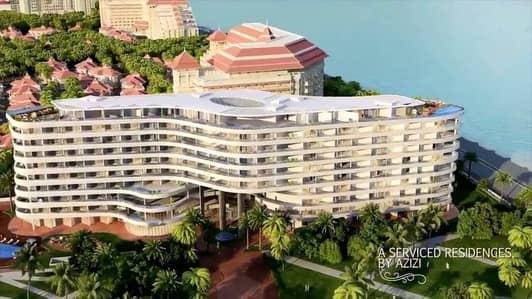 فلیٹ 1 غرفة نوم للبيع في نخلة جميرا، دبي - Own an apartment on the sea plan payment easy