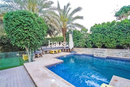 3 Bedroom Villa for Rent in The Lakes, Dubai - Type C End| Fully Upgraded | Private Pool | Vacant