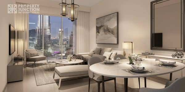 2 Bedroom Apartment for Sale in Downtown Dubai, Dubai - Pay 75% Over 5 Years | 2 BR | DLD Waiver