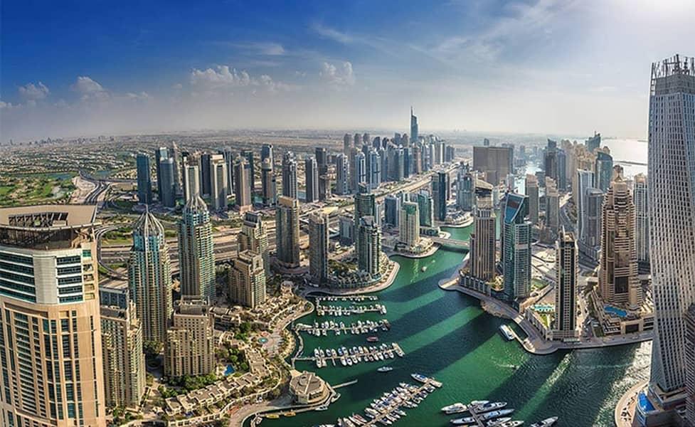 شقة في بوابة المارينا 2 بوابة المارينا دبي مارينا 2 غرف 2480000 درهم - 3544723