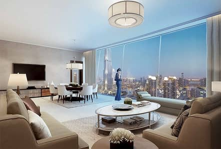 4 Bedroom Penthouse for Sale in Downtown Dubai, Dubai - 4 Bedroom | Penthouse | Full Burj Khalifa View