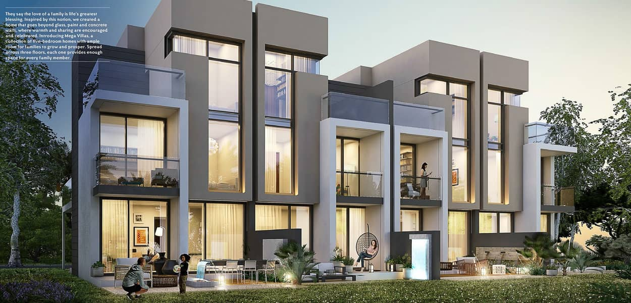 2 5 Bed Villa with Attractive Payment Plan