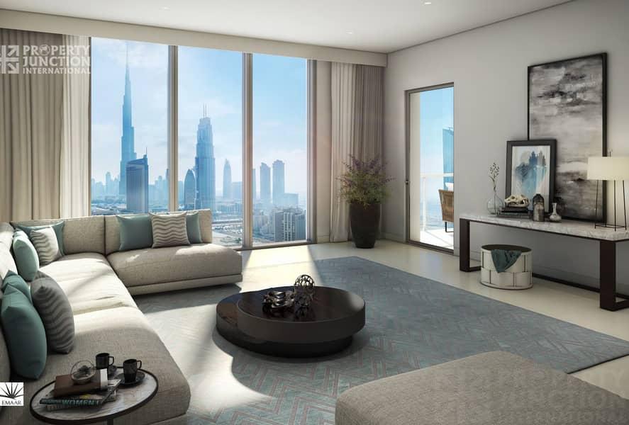 2 2 Bed  Burj Khalifa & Downtown Views.