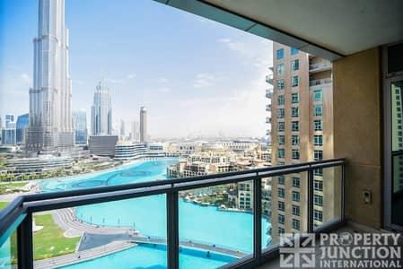 3 Bedroom Apartment for Rent in Downtown Dubai, Dubai - 3 Bedroom with Maid   Full Burj Khalifa View.