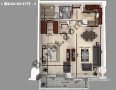 1-BEDROOM-TYPE-4