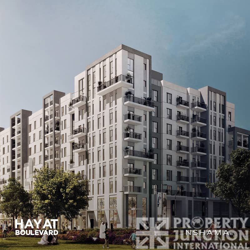 2 Invest Opportunity in 2 BR Hayat Boulevard