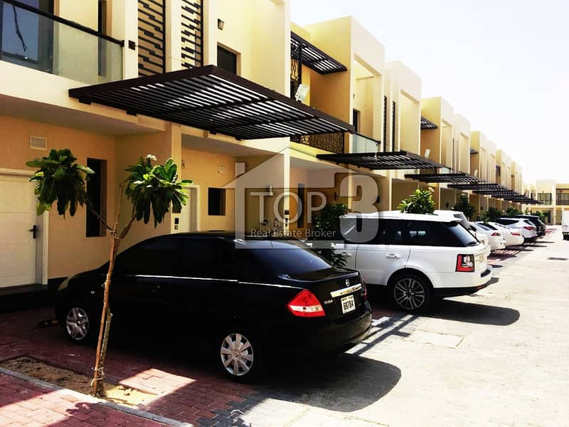 Brand New Unique & Stunning 2 BR Townhouse For sale in Sahara Meadows 2 South Dubai near Expo 2020
