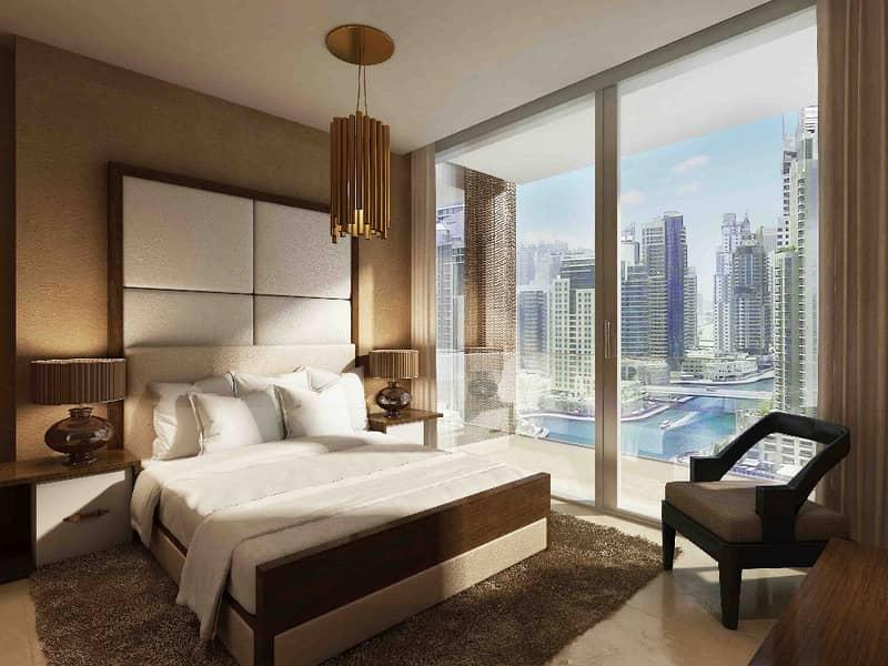 شقة في بوابة المارينا دبي مارينا 1 غرف 1793000 درهم - 2498451