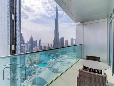 2 Bedroom Apartment for Rent in Downtown Dubai, Dubai - All Bills - Fountain Views - 2 Bed