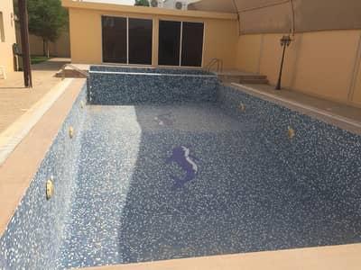 5 Bedroom Villa for Sale in Barashi, Sharjah - LAVISH, CORNER, FULLY FURNISHED, 5BHK VILLA W/ HUGE PRIVATE POOL & GARDEN IN BARASHI AREA.