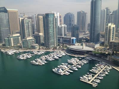 2 Bedroom Flat for Rent in Dubai Marina, Dubai - 2 Bedroom Full Marina View in The Point Tower Dubai Marina!