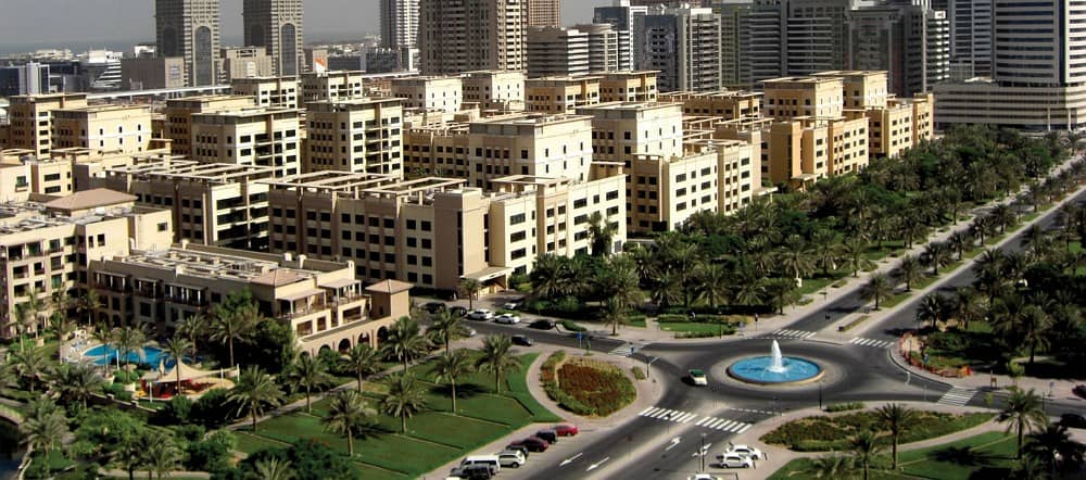 AVAILABLE 2 BEDROOM WITH BALCONY IN AL GHOZLAN 2. . WITH POOL VIEW . . . 85,000