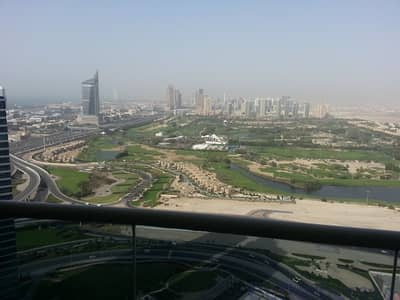 2 Bedroom Flat for Rent in Jumeirah Lake Towers (JLT), Dubai - Fully Furnished 2 Bedroom with Golf Course View