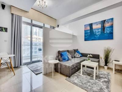 DEC Towers | Fully Furnished | Studio | Balcony