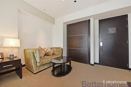 Studio for Rent in Dubai Marina, Dubai - Fully furnished I High floor I Panoramic view