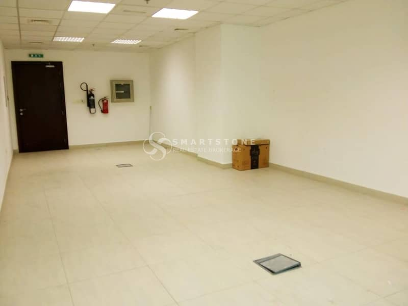 SPACIOUS FITTED OFFICE SPACE IN ARJAN FOR AED 39K