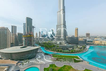 3 Bedroom Apartment for Rent in Downtown Dubai, Dubai - BREATHTAKING VIEW 3 Beds in Burj Residences 1