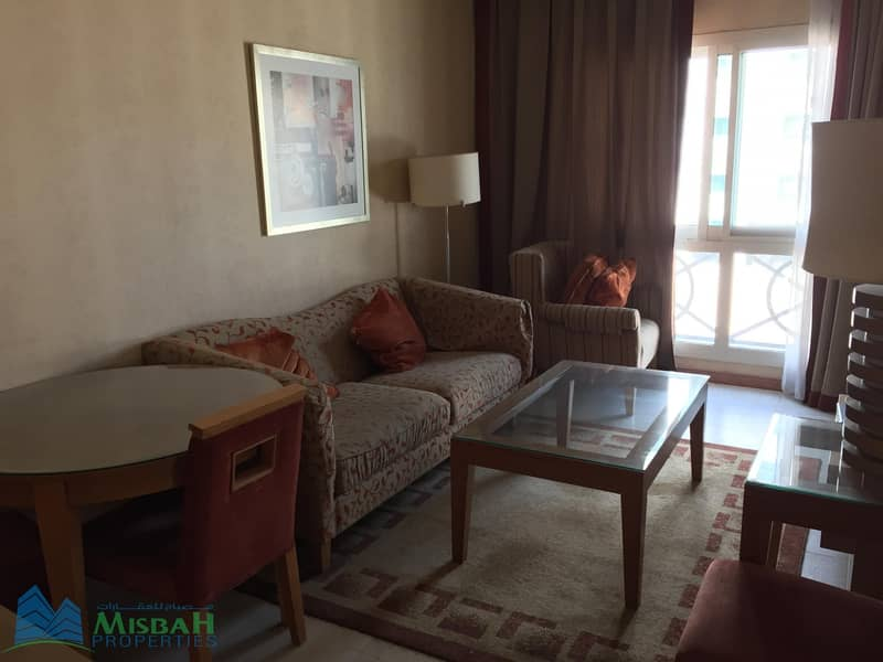 1 Best Offer_Furnished 1 BHK Apt @ 50K  Near MOE In Al Barsha 1