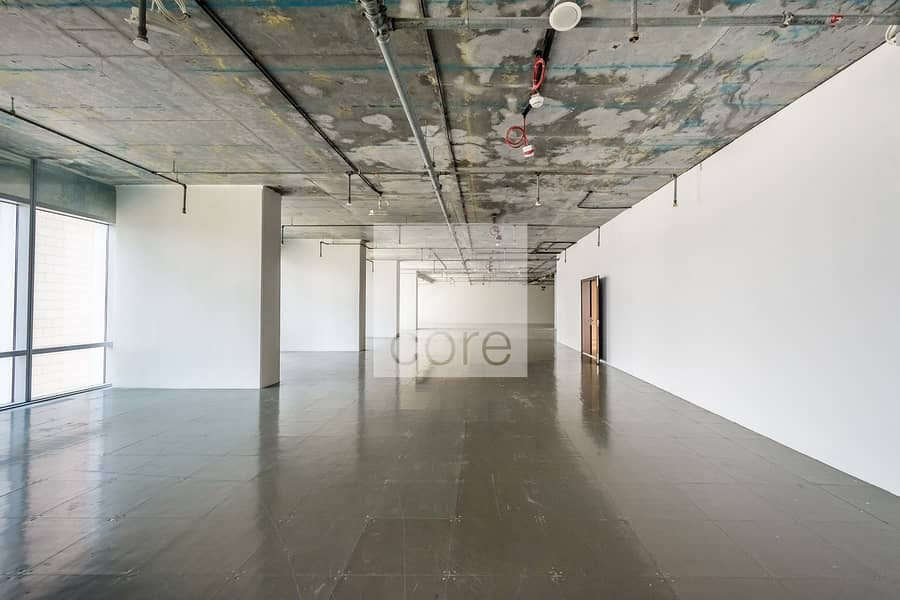 Semi fitted office for lease in Burj Daman
